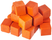Harbour Sales HWB06b Beeswax for Candlemaking, Crafts and Encaustic Painting, Orange