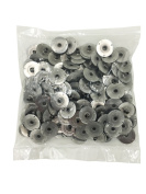 EricX Light 200pcs 20mm Metal Candle Wick Sustainer Tabs,For Candle Making,Candle DIY