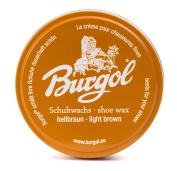 burgol schuhwachs-farbset Shades of Brown Shoe Wax 100 ml Tin Can