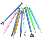 Lenhart Metal Ball Stylus Dotting Tools Set for Clay Ceramics Pottery Carving Modelling Embossing