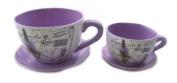 Cup planter Lavender Set/2
