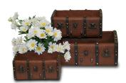 Planter Box Ceramica Marron S/3