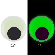 VEYLIN 2 PCS 18cm Plastic Adhesive Googly Eyes Glow in the Dark for Gag Gifts Pranking Party Fun to Stick on PosGag Gifts Pranking Party Fun to Stick on Poster or Bulletin Boards