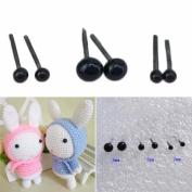 300pcs Safety Eyes for Teddy Bear Dolls Craft - 2/3/4mm