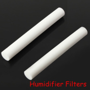 Bazaar 2pcs USB Humidifier Cotton Sliver Stick Cup Air Humidifier Replacement Filters