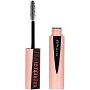 Maybelline Makeup Total Temptation Washable Mascara, Blackest Black Volumizing Mascara, 10ml