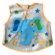 Central Chic Baby Toddler Children Cute Animal Bibs Fabric & Waterproof Wipe Clean