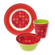 Sigikid Girl Melamine Set – Plate, Bowl, Cup