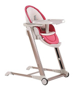 Star Ibaby Noa – High Chair Babyphone Evolutionary Foldable, Pink