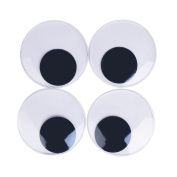 CCINEE 4 Pieces 7.6cm Giant Googly Eyes With Self-adhesive