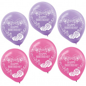 Ever After High Printed 30cm Latex Balloons (6 Pack) - Party Supplies