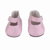 CYCTECH Doll Shoes Cute Dress Shoe Accessory Fits 46cm Generation American Girl Dolls