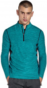 KomPrexx Mens 1/4 Zip Tops - QUICK DRY ACTIVEWEAR - Sports Training Workout Running Long Sleeve T-Shirts MC03T