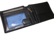 Mala Leather Origin RFID Large Bi Fold leather Wallet with coin section & zipped pocket