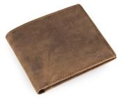 Credit Card Holder with Money Clip | RFID Blocking Wallet | Slim Wallet | Travel Wallet | Minimalist Mini Wallet for Men -Dunkelbraun1