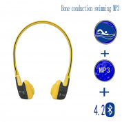 Bone conduction MP3 player advanced waterproof swimming Bluetooth headset , Fitness, leisure, outdoor sports headphones