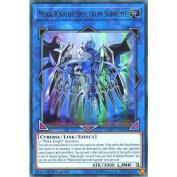 YuGiOh : EXFO-EN047 1st Ed Mekk-Knight Spectrum Supreme Ultra Rare Card -