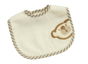 Be Be's Collection 836 Bib with Hook and loop 44 Mini 24x28 CM Big Willi Beige