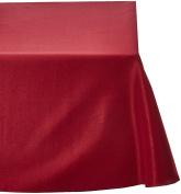 LinenTablecloth 230cm x 340cm Rectangular Polyester Tablecloth Burgundy