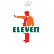 Funny Fan Made Seven Eleven Parody Art Decorative Pot Holder