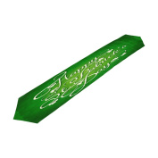 ALAZA Double-Sided Printing St Patricks Day With Shamrocks Leaves Table Runner 33cm x 180cm Long Table Top Home Decor