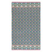 Pip Studio Star Cheque Blue Beach Towel 100 x 180 cm