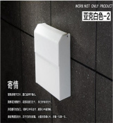 Sucastle® 26*21*8(cm) plastic Wall Mounted Bathroom Toilet Paper Holders Self Adhesive Toilet Paper Holder Wall Mount Contemporary Style