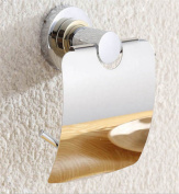 Sucastle® 15*15*8CM Zinc alloy Wall Mounted Bathroom Toilet Paper Holders Self Adhesive Toilet Paper Holder Wall Mount Contemporary Style