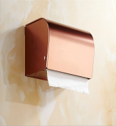 Sucastle® 20*15(CM) Space aluminium Wall Mounted Bathroom Toilet Paper Holders Self Adhesive Toilet Paper Holder Wall Mount Contemporary Style