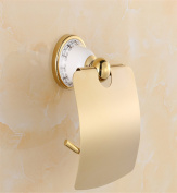 Sucastle® 145*87*140mm Zinc alloy Wall Mounted Bathroom Toilet Paper Holders Self Adhesive Toilet Paper Holder Wall Mount Contemporary Style