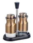 Salt and Pepper Shakers - Salt Shaker- Elegant Stainless Steel Salt and Pepper Shakers