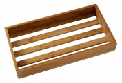 American Metalcraft WCBL Wood Crate, Large Bamboo