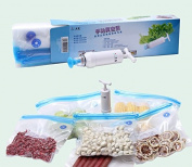 Vacuum Sealer with Hand Pump Toopone Storage Food Bags Sealed Reusable Easy to Use 26CM28CM