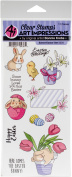 Art Impressions Easter Clear Stamps