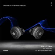 huichang Mini TWS Twins Wireless In-Ear Stereo Sports Bluetooth Earphones Cool Earbuds Headset