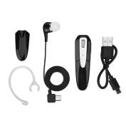 VBESTLIFE TWS Bluetooth Wireless Ear-Hook In-Ear Headset Stereo Mechanical Earphone with Dual Battery