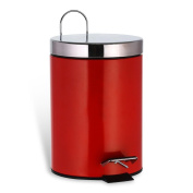 "'""Messina HC Retail 931272 Cosmetic Bin 3 Litres 17 x 17 x 24 cm red"