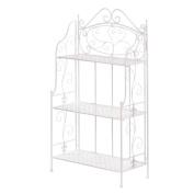 Metal Bakers Rack, Basket Weave Storage Shelf Pantry 3-tier Kitchen Cooling Rack