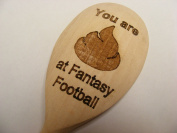 FANTASY FOOTBALL WOODEN SPOON LOSER LAST BOOBY PRIZE WORST PLAYER NOVELTY FANTASY FOOTIE FOOTY FF JOKE WOOD KITCHEN COOKING BAKING GIFT PRESENT