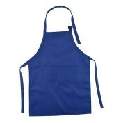PetHot Apron for Kids Pocket Adjustable Kitchen Cooking Craft Art Plain Bib
