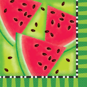 Watermelon Summer Party Lunch Napkins, 16ct