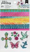 American Crafts Bible Journaling Washi Stickers 2/Pkg