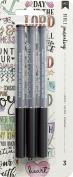 American Crafts Bible Journaling Precision Pens 3/Pkg