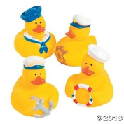 Nautical Rubber Ducks - 12 pc
