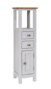 Ascott Grey Painted Tower Cabinet