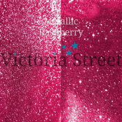 "Fine Glitter - 0.2mm / 0.008"" - Metallic - Raspberry - 50 Grammes"