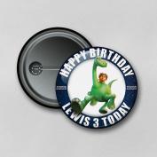 Disney The Good Dinosaur (5.8cm) Personalised Pin Badge Printed in Hi-RES Photo Quality