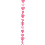Amscan International 9902826 Tail Heart Balloon, Pink