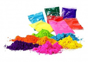 OMG-Deal Gulal Holi Powder-Colours Colour Powder - Pack of 6, 100g Each, Festival Colours