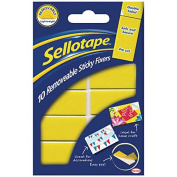 Sellotape SE04420 20mm x 40mm Removable Sticky Fixer